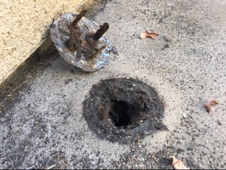 Improper drain installation